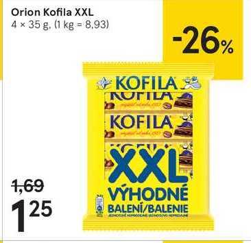Orion Kofila XXL, 4 x 35 g