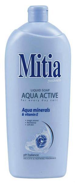 Mitia Aqua tekuté mydlo náhradná náplň 1x1 l