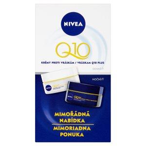 Nivea Q10 Plus Krémy proti vráskám denní a noční 2 x 50ml