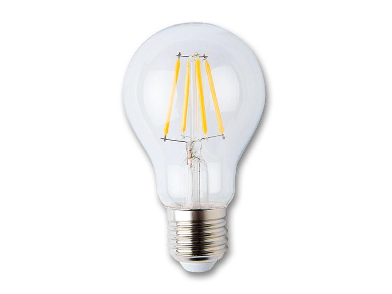 LED žiarovka s vláknom 4W-E27 studená