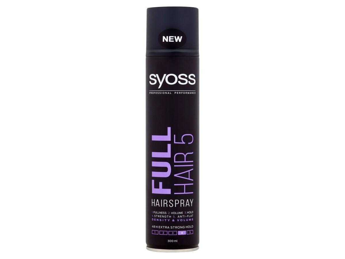 Syoss Full hair 5D lak na vlasy 1x300 ml