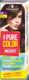 Farba na vlasy #Pure Color Washout, 5.0 pravý hnedý