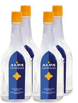 Alpa Francovka 4x160 ml