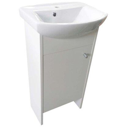 Kúpeľňová skrinka s umývadlom Pavla 45 biela
