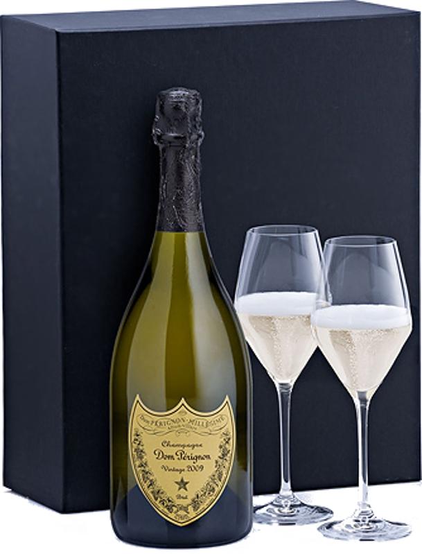Dom Pérignon Vintage 2009 12,5% 0,75 L + 2 poháre