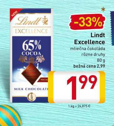 Lindt Excellence  80 g