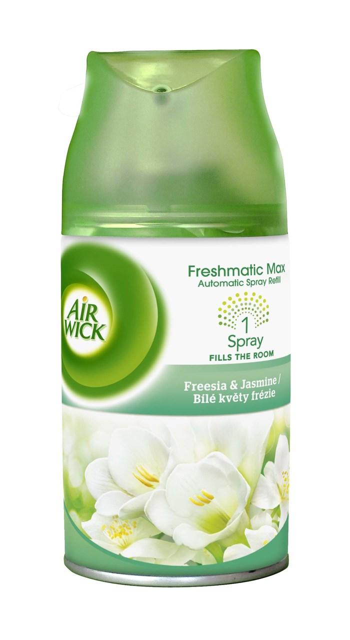 Air wick Freshmatic Max Biele kvety frézie náhradná náplň do osviežovača 1x250ml