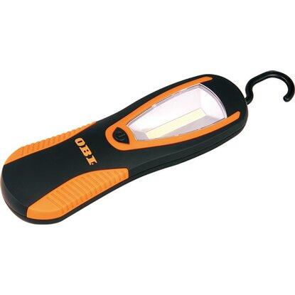 OBI COB pracovné svietidlo čierno-oranžové