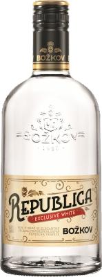 Božkov Republica Exclusive White 38% 0,70 L