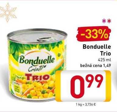Bonduelle Trio 425 ml