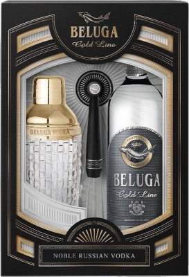 Beluga Gold Line 40% 0,70 L + Shaker