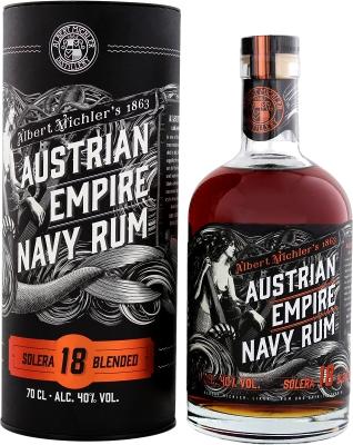 Austrian Empire Navy Rum Solera 18YO 40% 0,70 L