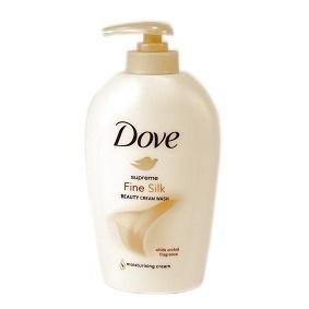 Dove Fine Silk hodvábne tekuté mydlo 1x250 ml