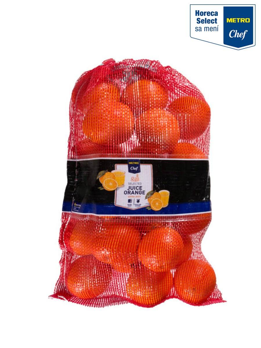 Metro Chef Pomaranče džúsové 6/7 čerstvé 1x5 kg