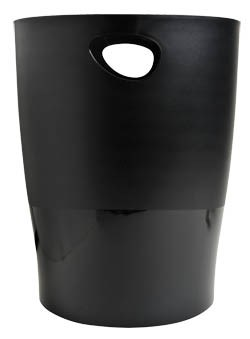 Kôš na odpadky čierny SIGMA 1ks