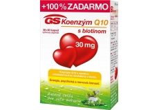 GS Koenzým Q10 30 mg