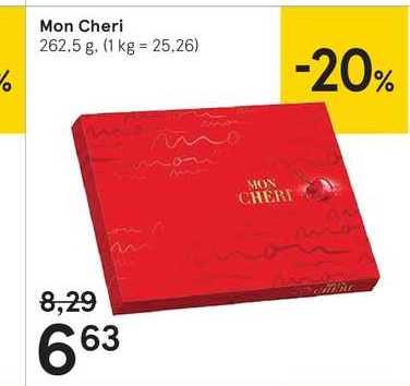 Mon Cheri, 262,5 g