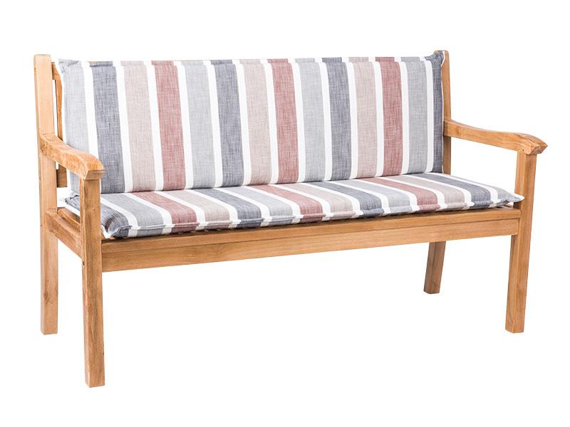Poťah na lavicu GENT 140x49+39x6,5cm