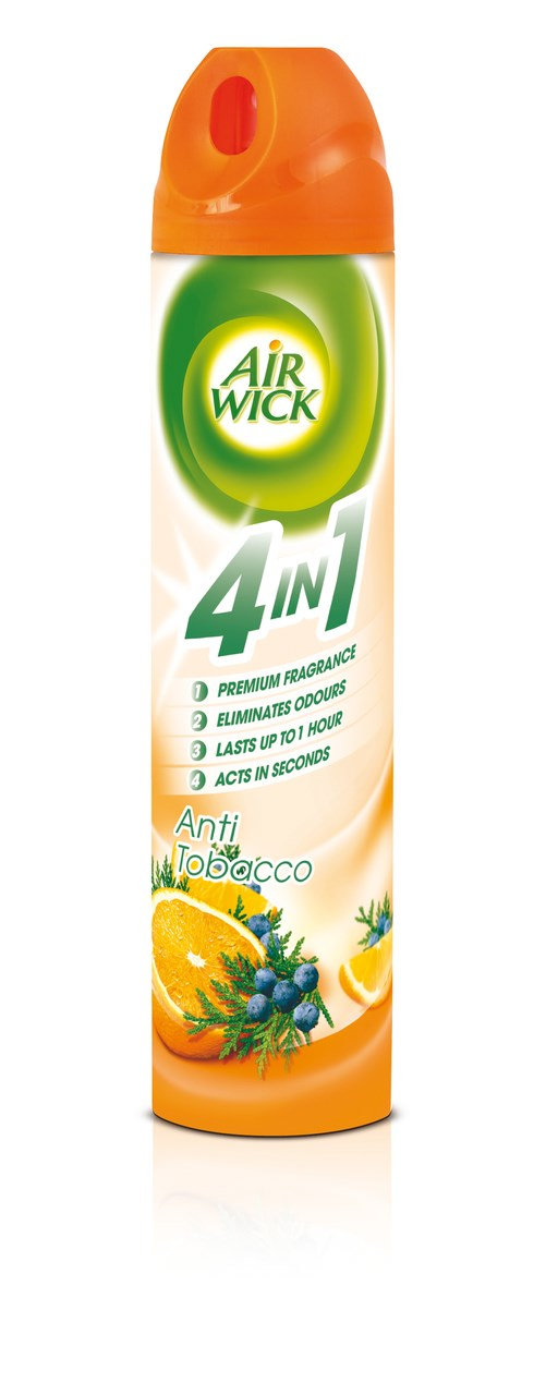 Air wick Anti tabak 4v1 sprej 1x240 ml