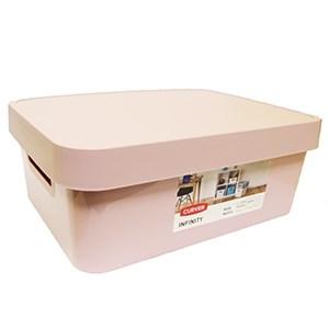 Box úložný Infinity 11l ružový Curver 1ks