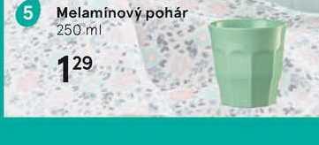 Melamínový pohár
