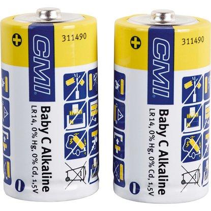 CMI Sada batérií Alkaline Baby C, 2 ks