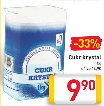 Cukr krystal 1 kg