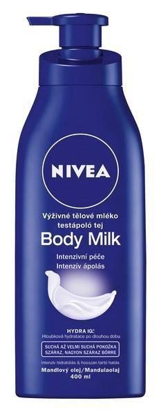 Nivea telové mlieko výživné 1x400 ml