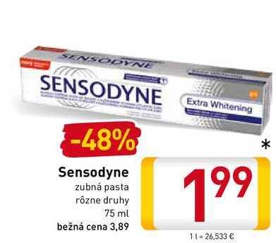 Sensodyne 75 ml