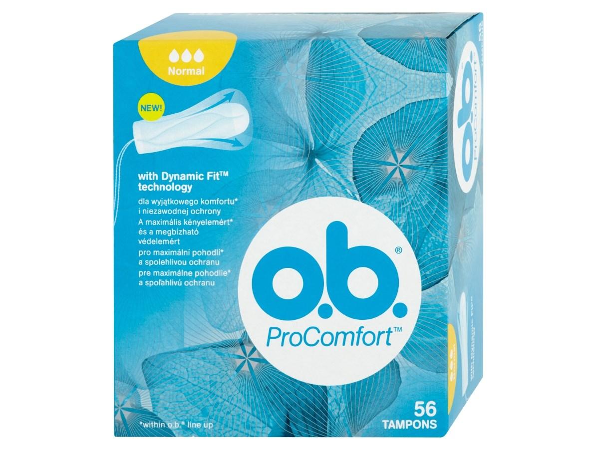 o.b. Tampóny ProComfort normal 1x56 ks