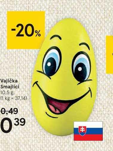 Vajíčka smajlíci, 10,5 g