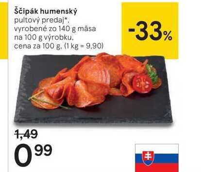 Ščipák humenský, 100 g