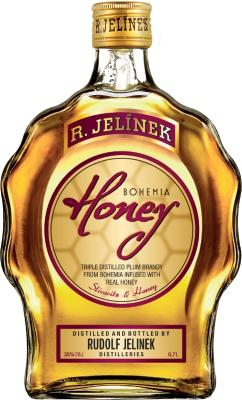 Bohemia Honey budík 35% 0,70 L