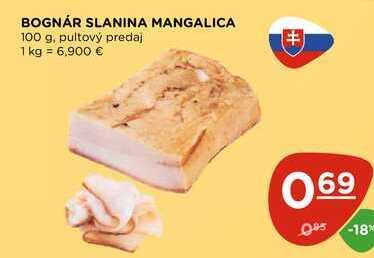 BOGNÁR SLANINA MANGALICA