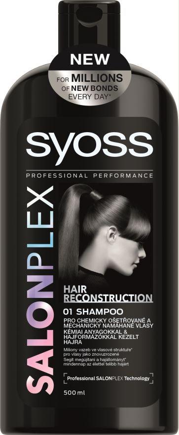 Syoss Salon Plex šampón na vlasy 1x500 ml
