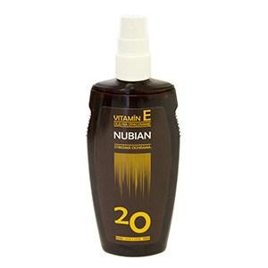 Nubian olej na opaľovanie OF20 1x150 ml