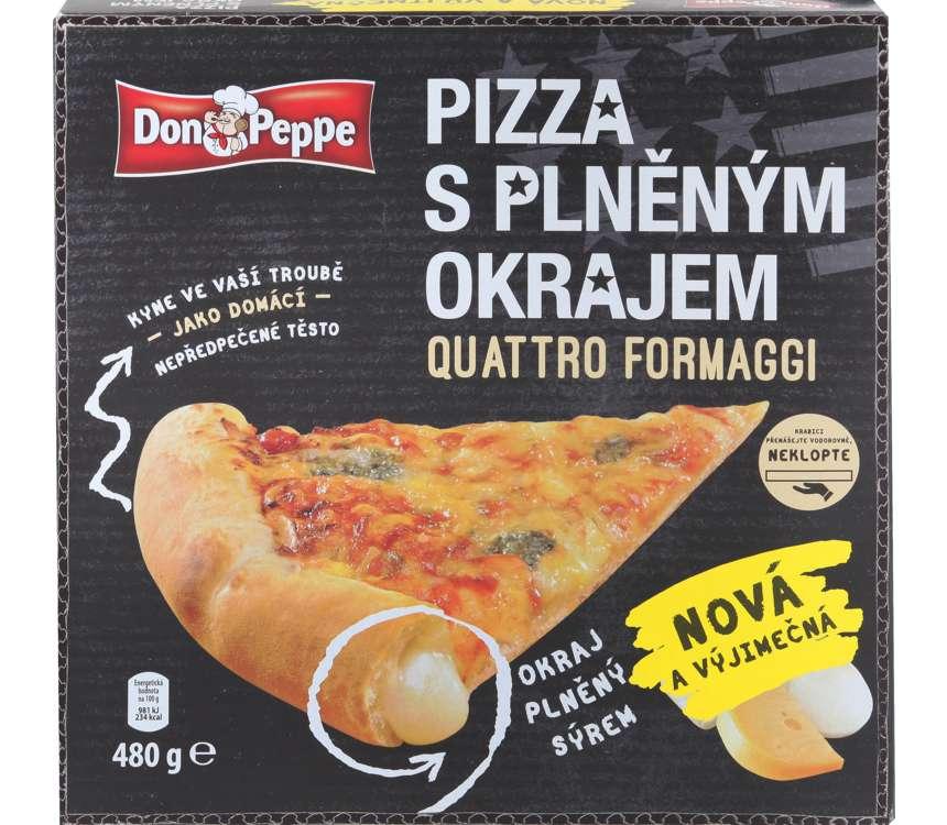 Pizza s plneným okrajom