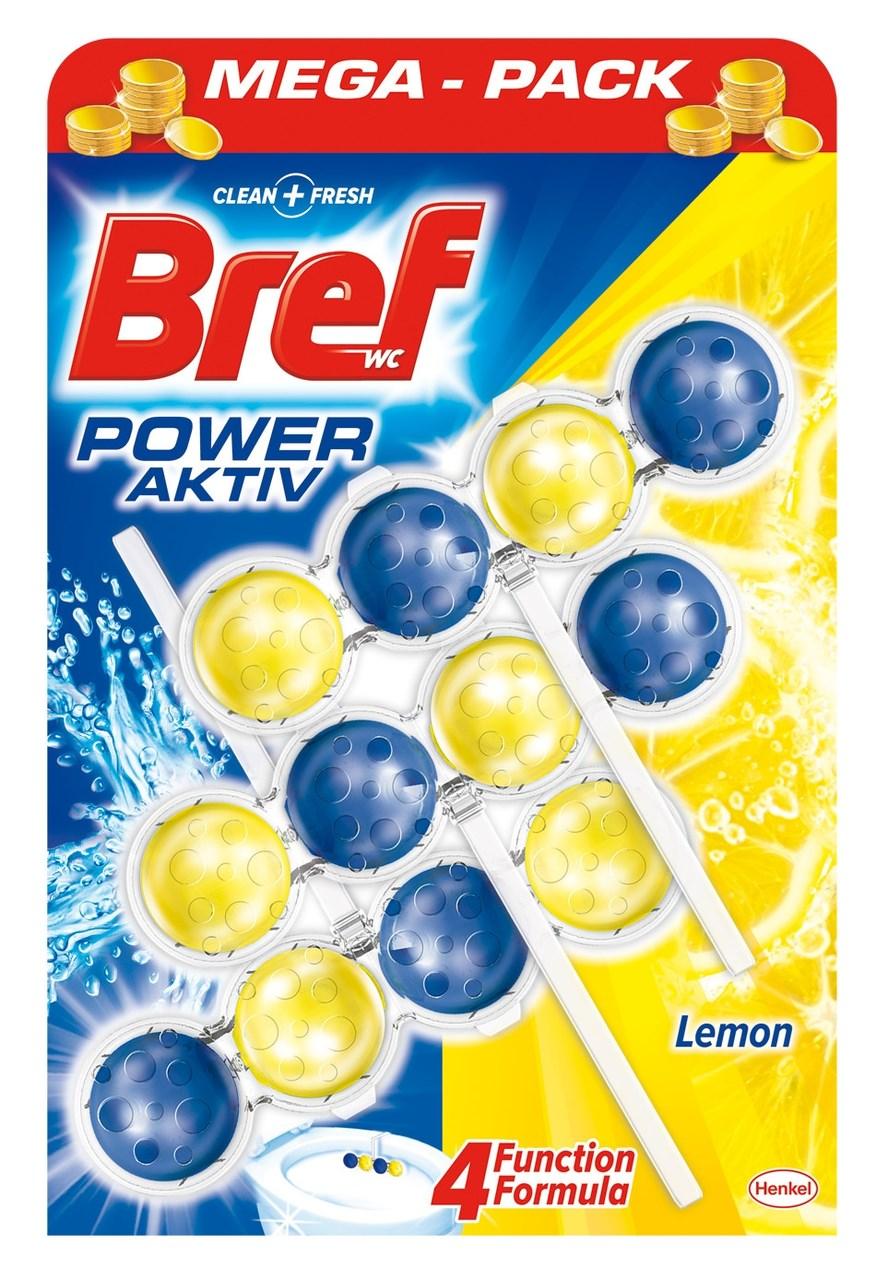 Bref Power Aktiv Lemon 3x50 g