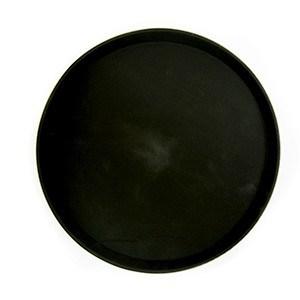 Podnos polyform okrúhly 36cm čierny 1ks