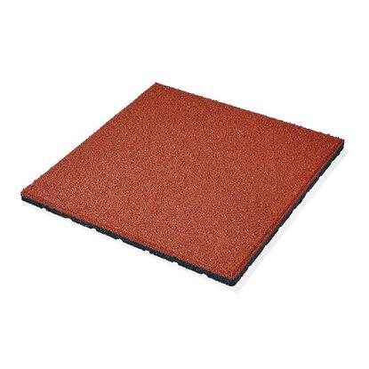 Dlažba gumová MAX3 červená 50 cm x 50 cm
