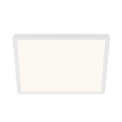 Briloner LED panel s podsvietením plochý hranatý biely, 18 W