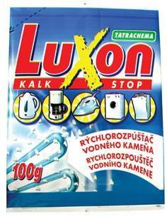 Luxon odstraňovač vodného kameňa 4x100 g