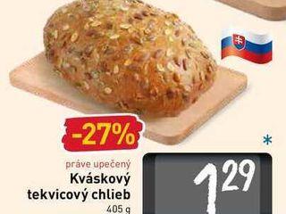 Kváskový tekvicový chlieb 405 g