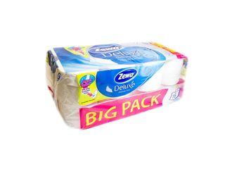 Zewa Deluxe Toaletný papier Pure white 3-vrst. 20,7m 150útr. 1x16 ks