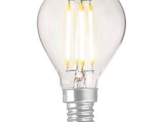 LED osvetľovací prostriedok OBI svláknom mini guľa E14/4W (470lm) teplá biela