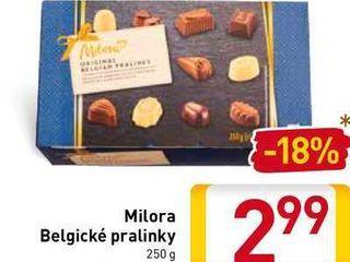 Obrázok  Milora Belgické pralinky 250 g