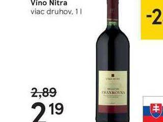 Víno Nitra, 1 l