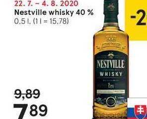 Obrázok  Nestville whisky 40 %, 0,5 l