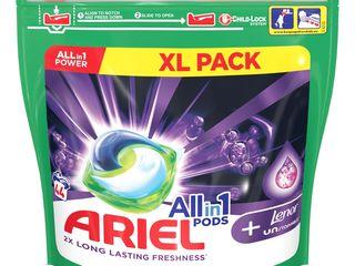 Ariel Touch of Lenor gélové kapsuly 1x44 ks