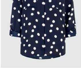 Obrázok Dámská tmavomodrá košeľa